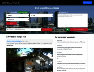 argentina.bienesonline.com screenshot