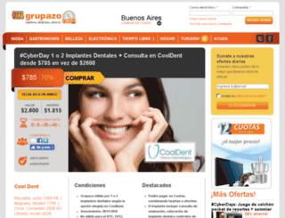 argentina.elgrupazo.com screenshot