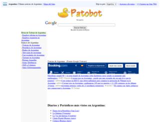 argentina.patobot.com screenshot