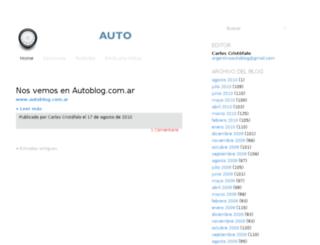 argentinaautoblog.blogspot.com screenshot