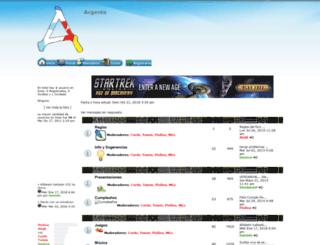 argento.foroactivo.info screenshot
