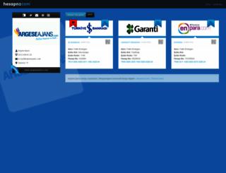 argeseajans.hesapno.com screenshot