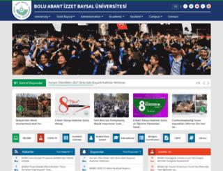 argevakfi.ibu.edu.tr screenshot