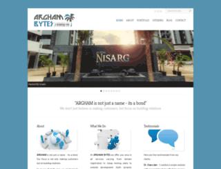argham.org screenshot