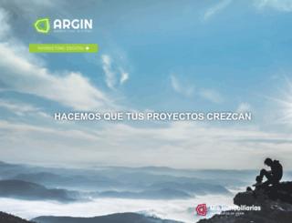 argin.com.ar screenshot