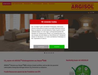 argisol-bewa.de screenshot