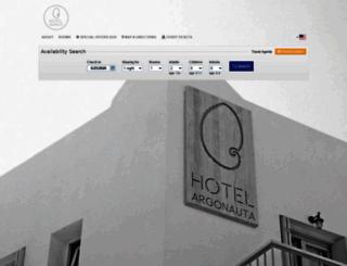 argonauta.reserve-online.net screenshot