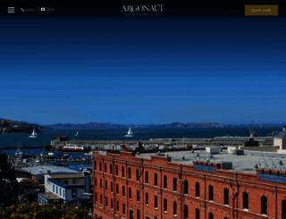 argonauthotel.com screenshot