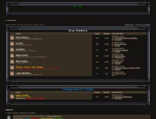 argonauts.forumfree.net screenshot