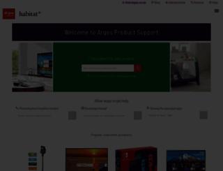 argos-support.co.uk screenshot