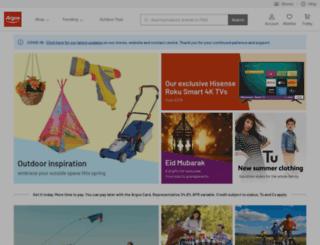 argos.co.uk screenshot