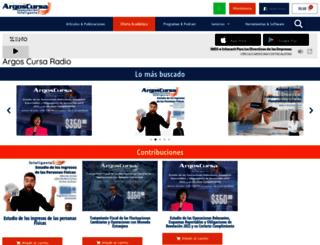 argoscursaradio.com screenshot