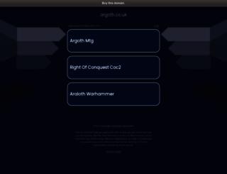 argoth.co.uk screenshot