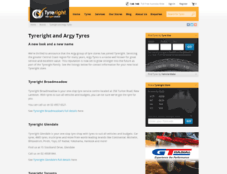 argy.com.au screenshot