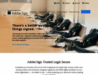 argylesocial.echosign.com screenshot