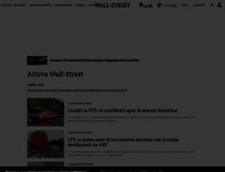 arhiva.wall-street.ro screenshot