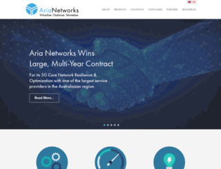 aria-networks.com screenshot