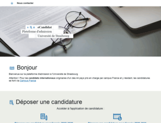 aria.u-strasbg.fr screenshot