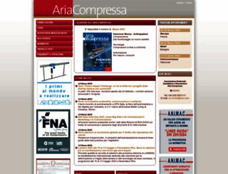 ariacompressa.it screenshot