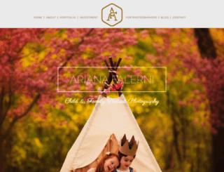 arianafalerni.com screenshot