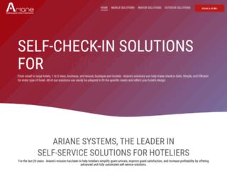 ariane.com screenshot