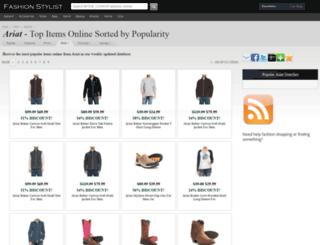 ariat.fashionstylist.com screenshot