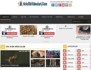 aricilikvideolari.com screenshot