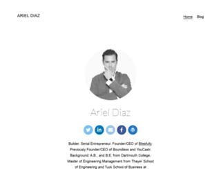 ariel-diaz.com screenshot