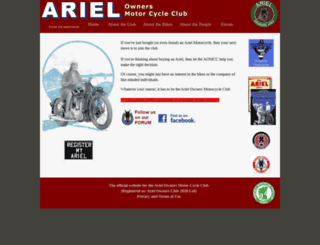 arielownersmcc.co.uk screenshot
