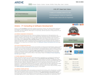 ariene.com screenshot