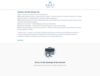 aries-group-inc.workable.com screenshot