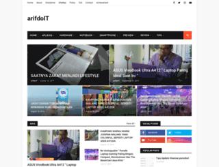arifdoit.com screenshot