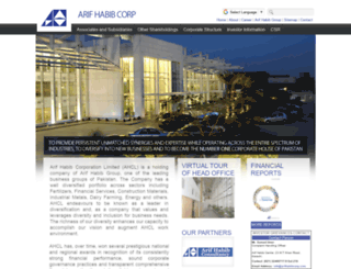 arifhabibcorp.com screenshot