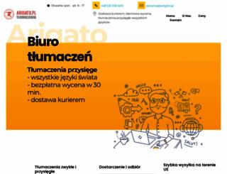 arigato.pl screenshot