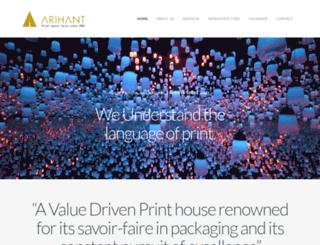 arihant-enterprise.com screenshot