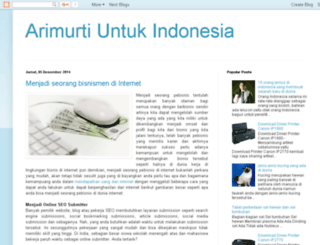 arimurti-indo.blogspot.com screenshot
