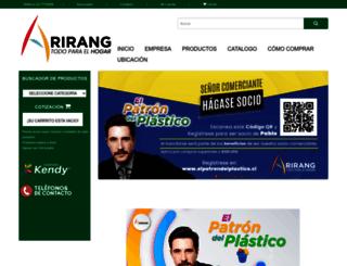 arirangplasticos.cl screenshot