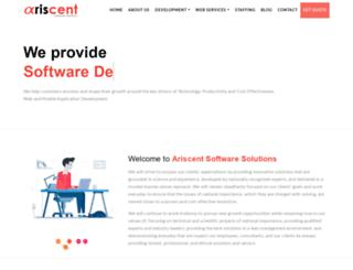 ariscentsoft.com screenshot