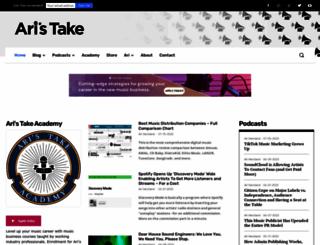 aristake.com screenshot