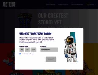 aristocratgaming.com screenshot