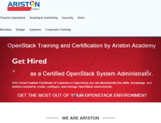aristonacademy.com screenshot