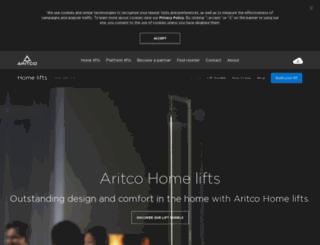 aritcohomelifts.com screenshot