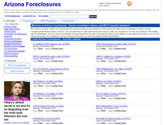 arizona-foreclosures.org screenshot