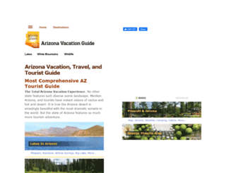 arizona-leisure.com screenshot