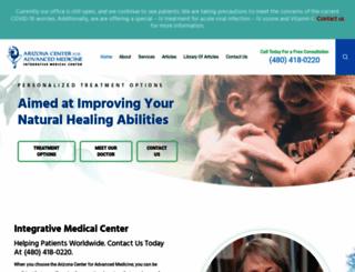 arizonaadvancedmedicine.com screenshot