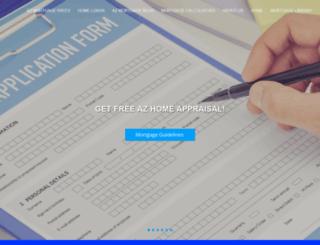 arizonacentralmortgage.mortgagexsites.com screenshot