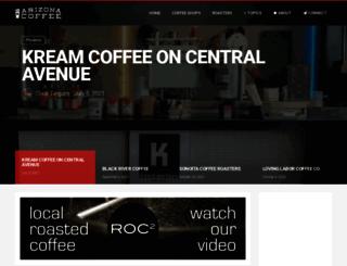 arizonacoffee.com screenshot