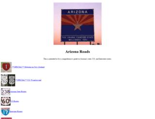 arizonaroads.com screenshot