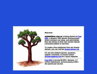 arjetairlines.com.ar screenshot