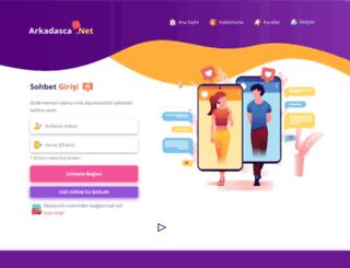 arkadasca.net screenshot